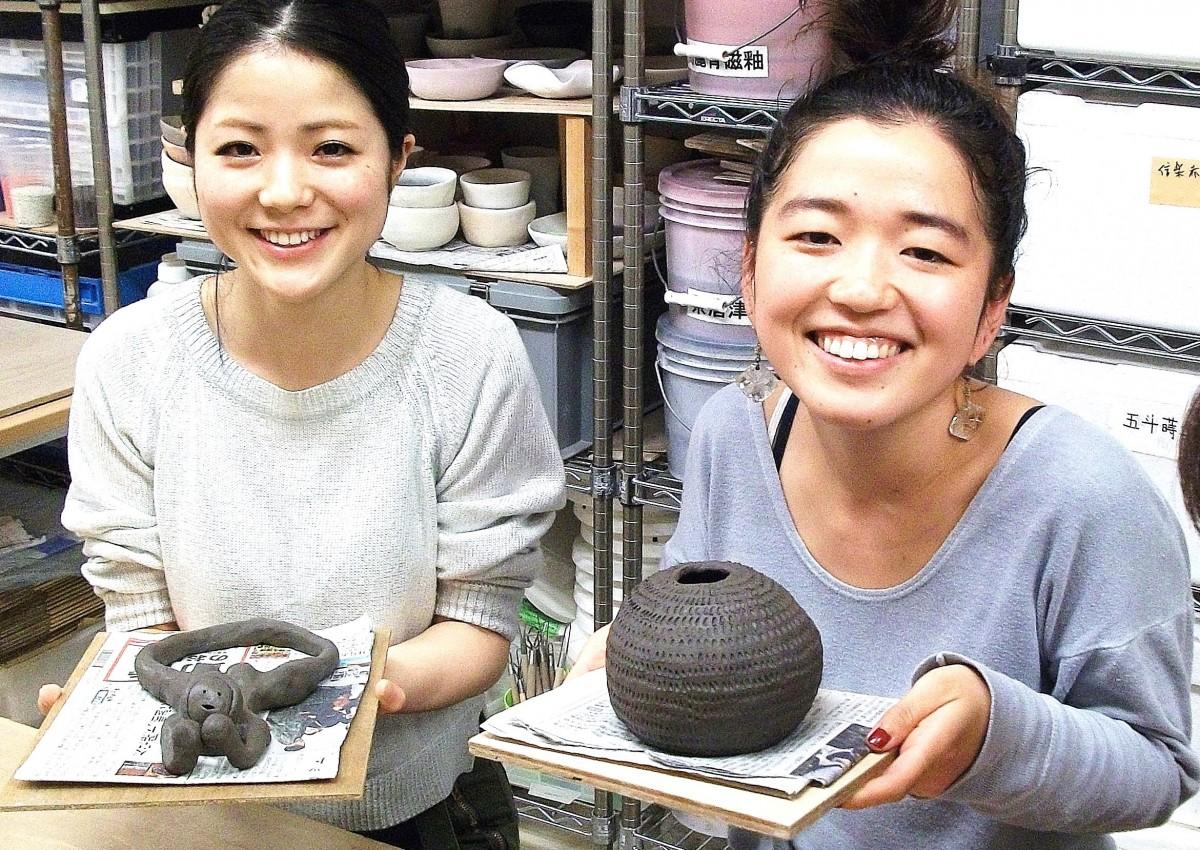 手びねり陶芸体験