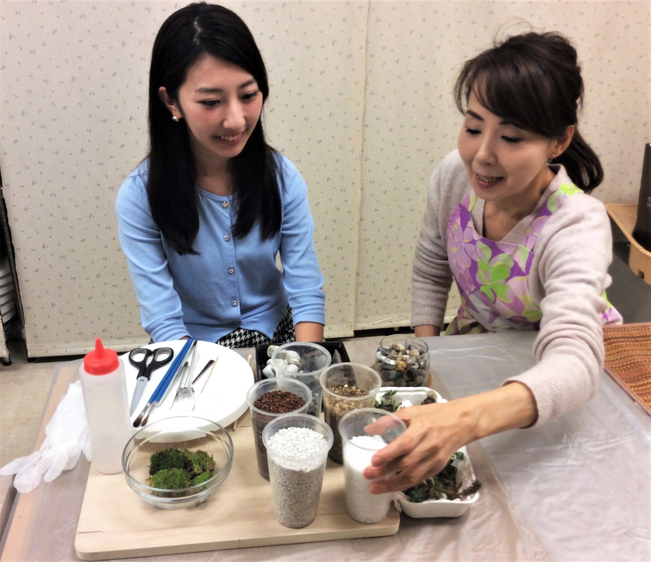 ☆癒しのグリーンインテリアのいろはを学ぶ(6回)入門